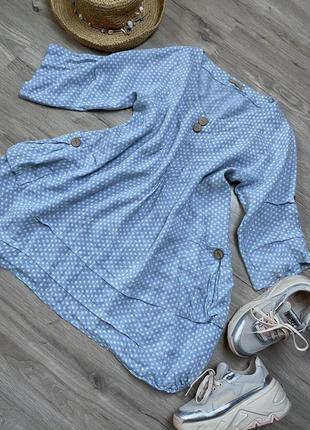 Льняное платье,туника