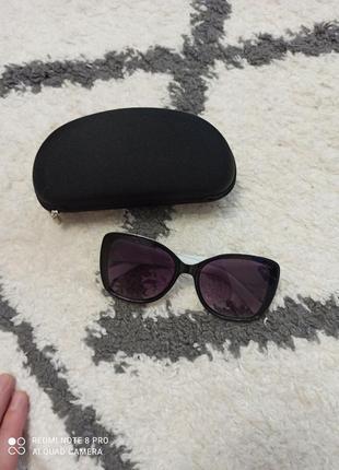 Солнцезащитные очки gabriela marioni+чехол в подарок