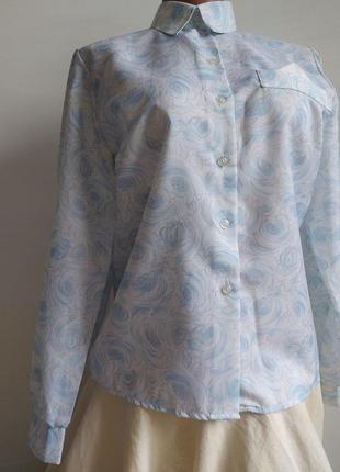 Очень красивая блузка,  нежных пастельных тонов