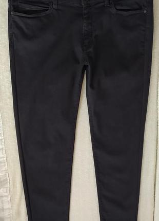 Як нові,в ідеалі!якісні дуже гарній стрейчеві джинси skinny р.16.
