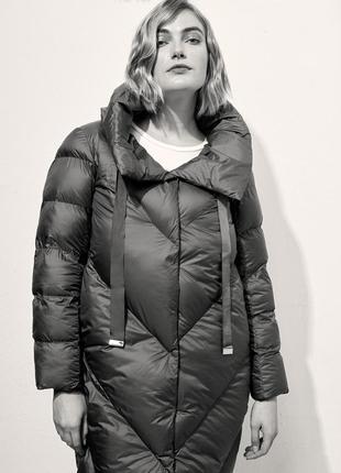 Пуховик стеганое пальто fiorella rubino(италия) как  marina rinaldi elena miro