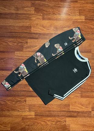 Спортивный костюм лосины термуха лонгслив свитер adidas