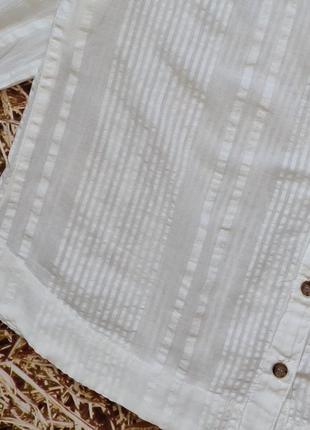 Новая хлопковая блуза h&m. размер 384 фото