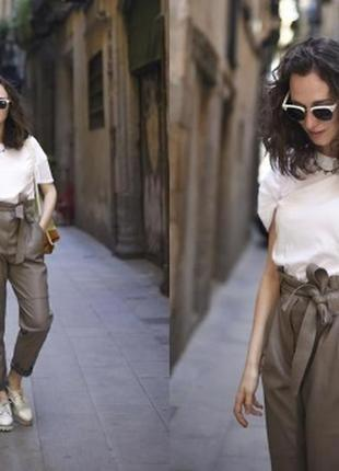 Красивые брюки из натуральной кожи/брюки/штаны/джинсы/кожаные брюки/скини/юбка/джинсы/платье