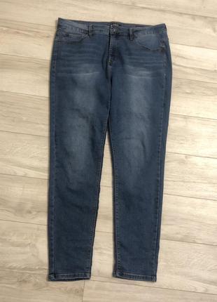 Стрейчевые джинсы большого размера батал