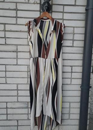 Платье - халат италия.