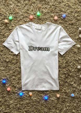 Белая майка поло тенниска футболка victoria beckham оригинал