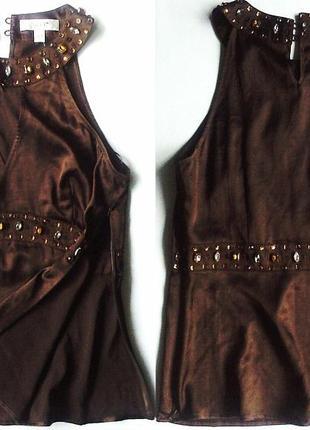 Приталенная блуза next