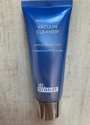 Вакуумная маска против чёрных точек и угрей dr. brandt pores no more vacuum cleaner