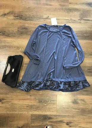Шикарная блуза италия1 фото