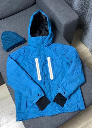 Курточка лыжная ветровка горная водонепроницаемая утеплённая