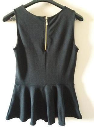 Фактурна блуза з баскою vero moda