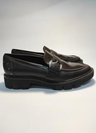 Лофери шкіряні geox туфлі жіночі туфли кожаные лоферы