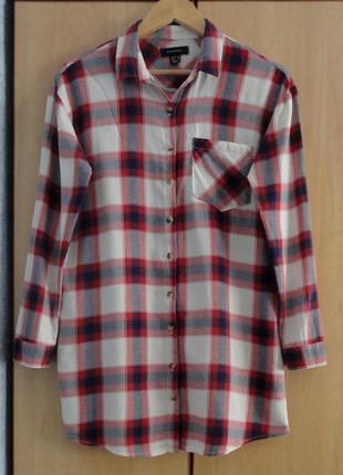 Супер брендовая рубашка блуза блузка хлоп