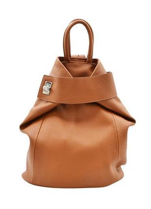 Рюкзак жіночий рудий