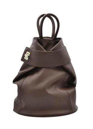 Рюкзак жіночий коричневого кольору