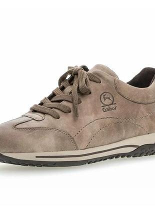 Gabor - женские кожаные кроссовки - 37, 38