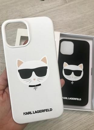 Чехлы karl lagerfeld на iphone 12/12 max оригинал из сша