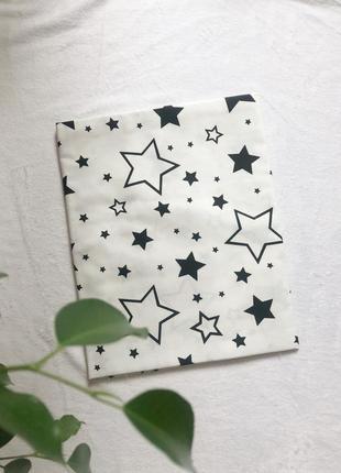 Хлопковая пеленка звёзды простынь в коляску