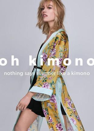 Летнее кимоно 👘