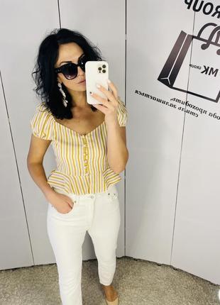 Блуза на гудзички нова з біркою бренд primark 40/12 ціна 🔥🔥🔥160грн