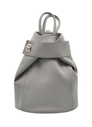 Рюкзак світло-сірий жіночий