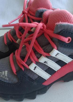Ботинки деми adidas, gore-tex 23-24р. оригинал