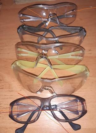 Захисні окуляри uvex нові