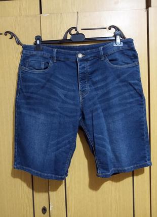 Шорты джинсовые стрейчевые