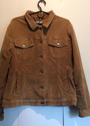 Вельветовая демисезонная курточка mirage