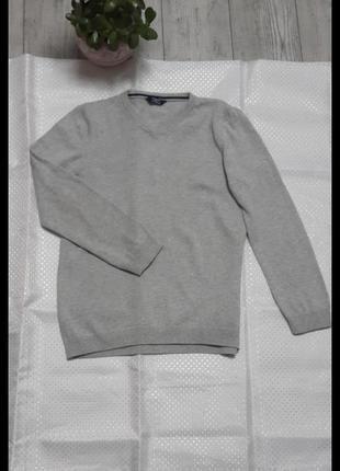 """Свитер джемпер серого цвета хлопок школьный вариант на 8-9-10лет """"lc waikiki"""""""