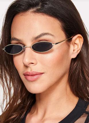 Очки солнцезащитные овалы1 фото
