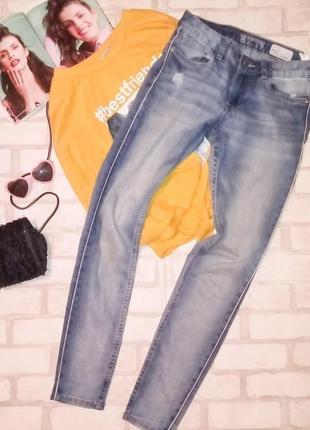 Крутые джинсы с лампасами