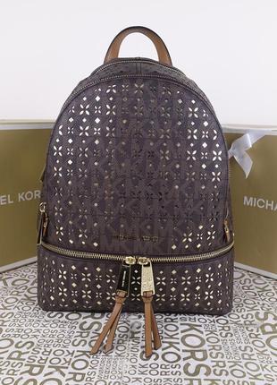 Рюкзак michael kors brown медиум оригинал майкл корс