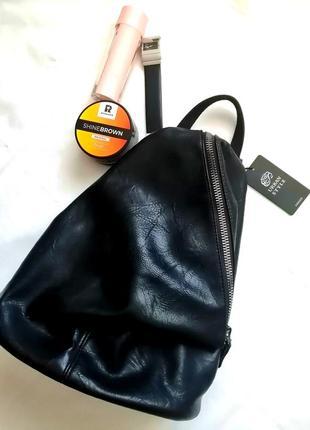 🖤чорний рюкзак новий🖤