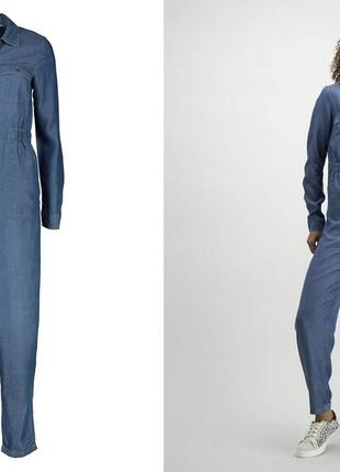 Голубий джинсовий комбінезон tu р42