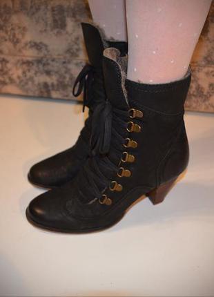 Ботинки полусапожки зимние gortz,осенне-весеннее в распродаже! на 2-ю вещь-10%