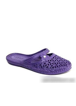 Шлепанцы шлепки пена с закрытым носком тапки тапочки