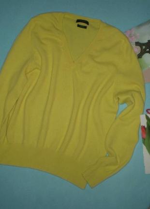 Женский кашемировый свитер autograph uk16 50р. желтый