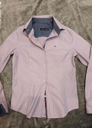 Блузка рубашка женская tommy hilfiger- m