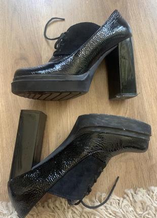 Туфли 37р. кожа