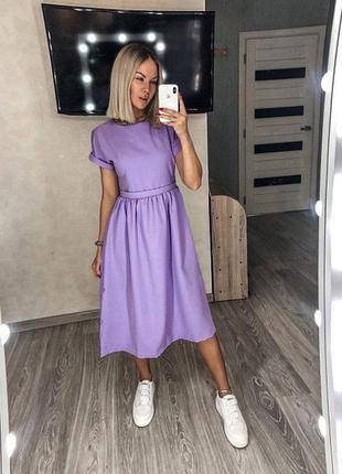 Платье миди, сукня