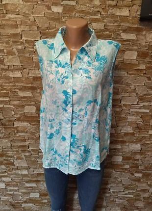 Швейцарская, новая, льняная, женская блуза, блузка, майка, рубашка, рубаха