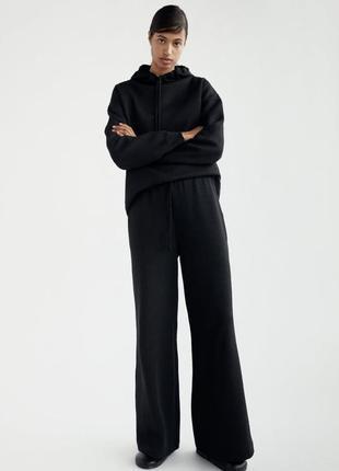 Широкі штани джогери zara