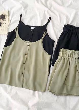 Костюм майка и шорты