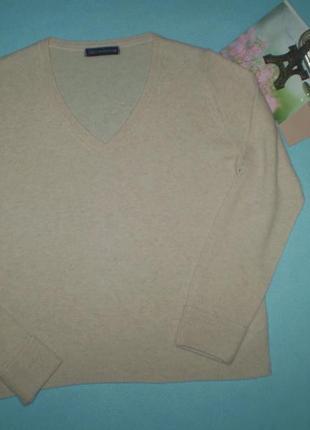 Женский свитер marks&spencer l 48р. мериносовая шерсть