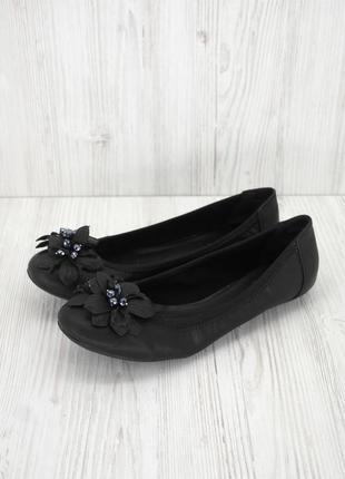 """Брендовые туфли, балетки """"graceland"""" с декором. размер eur 39-40."""