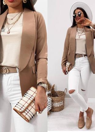 Цвета🌈пиджак🌺стильный женский пиджак красивый модный не лён