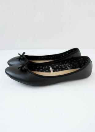 Классические стильные туфли-балетки atmosphere. размер uk6/eur39.