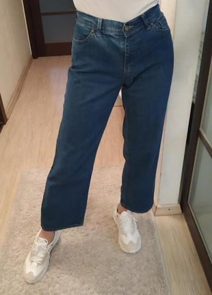 Широкие прямые джинсы mark&spencer.